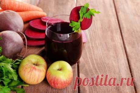 Que pasa, cuando mezcláis la remolacha, la zanahoria y las manzanas: solamente 1 vaso de jugo destruirá …