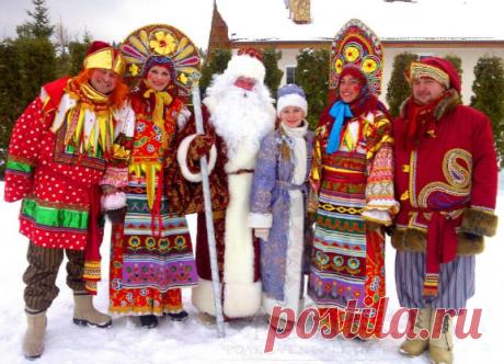 Новый год в русском стиле  | Я- Милочка