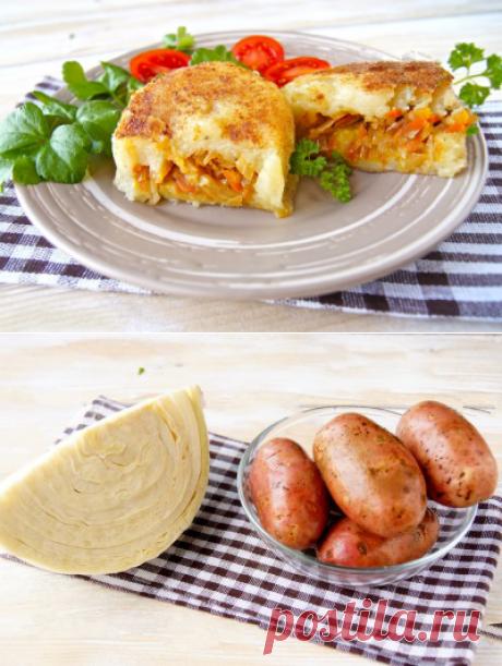 Зразы картофельные с капустой | Готовим Смакуем | Яндекс Дзен