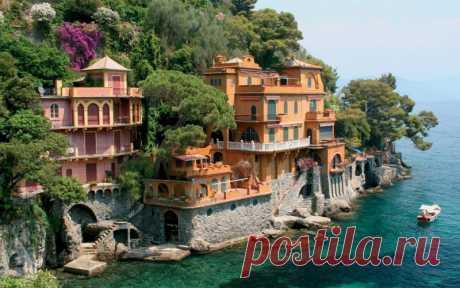 Портофино (Италия) - излюбленный курорт богатых и знаменитых — Путешествия