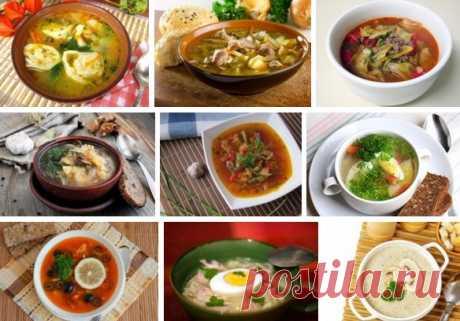 Вкуснейшие горячие первые блюда