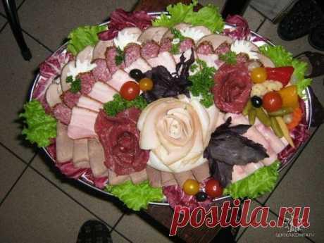 Украшение блюд с нарезками / Удивительная еда!