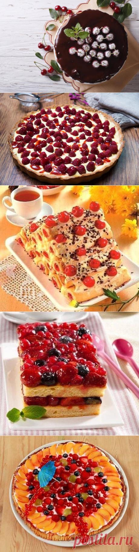 По - летнему тепло и солнечно - рецепты выпечки с ягодами.