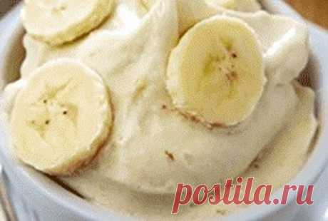 Банановое пп мороженое Десерт диетический без сахара