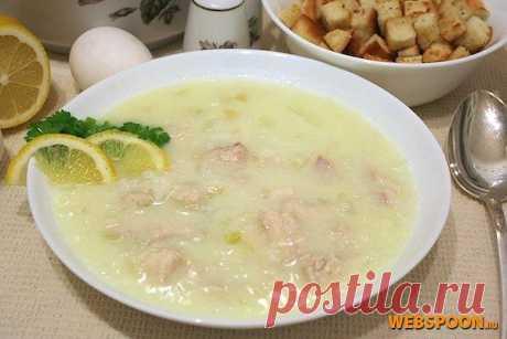 Греческий суп Авголемоно с фото | Рецепт греческого супа | Суп Авголемоно на Webspoon.ru