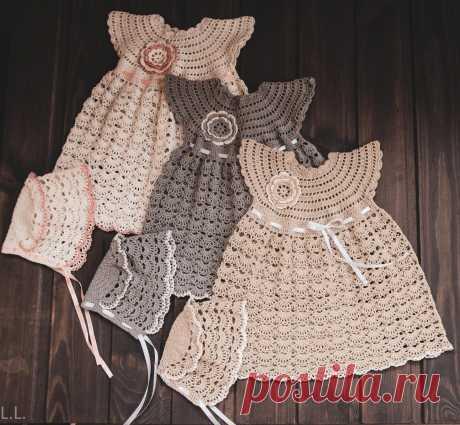 Нарядные платья для новорожденных девочек. В красивом наряде Ваша малышка будет маленькой принцессой.
