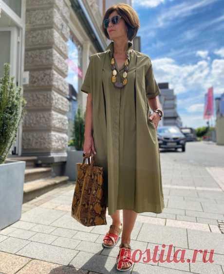 10 красивых летних образов для женщин за 50, которые любят себя   Модная лаборатория   Яндекс Дзен