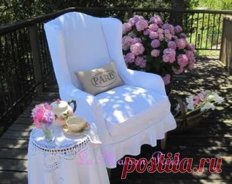 Как сшить чехол на кресло своими руками | Мой Милый Дом - хенд мейд идеи рукоделия и дизайна