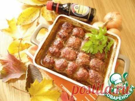 Фрикадельки с овощным соусом - кулинарный рецепт