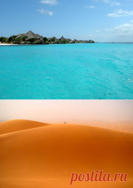 Самые интересные уголки Африки (24 фото) — Все о туризме и отдыхе