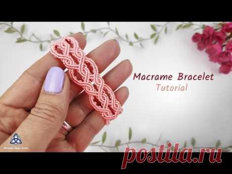 MACRAME BRACELET TUTORIAL - Double Celtic Pattern