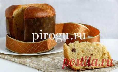 Итальянский кулич Панеттоне: пасхальный рецепт с фото