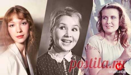 Трагические судьбы актрис советского кино - несчастливая жизнь и смерть любимых советских актрис