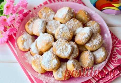 Печенье «Тающий снег» — Sloosh – кулинарные рецепты