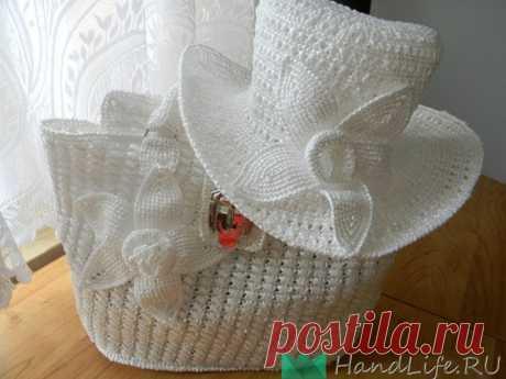 Вязание из полиэтиленовых пакетов - шляпки (видео) / Мое творчество - вязание