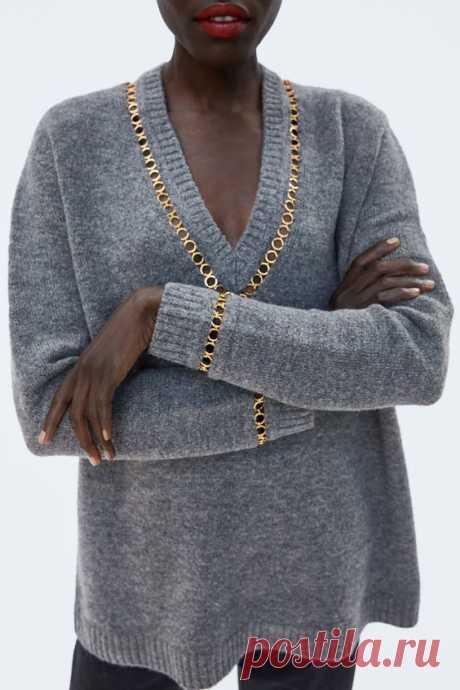Три оригинальные идеи с цепочкой колечками Модная одежда и дизайн интерьера своими руками