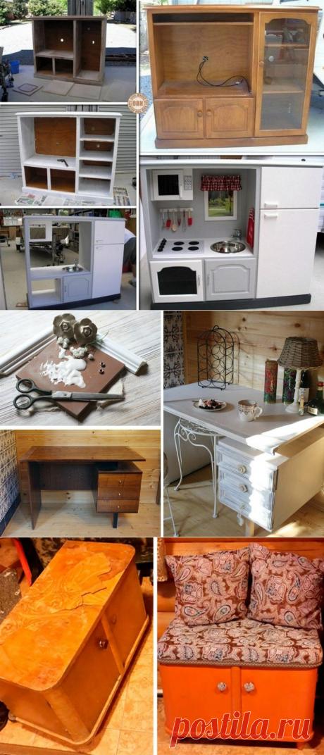 Переделываем старую советскую мебель в современную и стильную (идеи)
