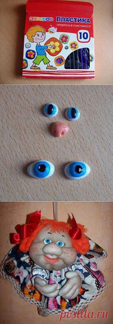 Глазки для игрушек своими руками.