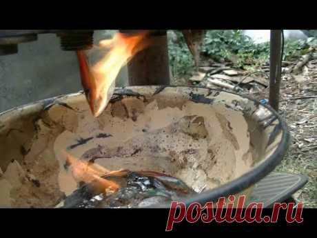 Плавил пластик, чуть не спалил дом - YouTube