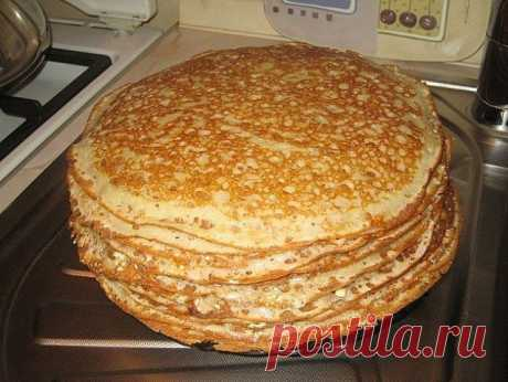 The recipe of pancakes on kefir which turn out even at those at whom they never turn out)