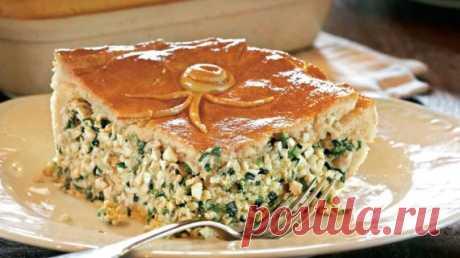 Кулебяка на четыре угла, пошаговый рецепт с фото Кулебяка на четыре угла. Пошаговый рецепт с фото, удобный поиск рецептов на Gastronom.ru