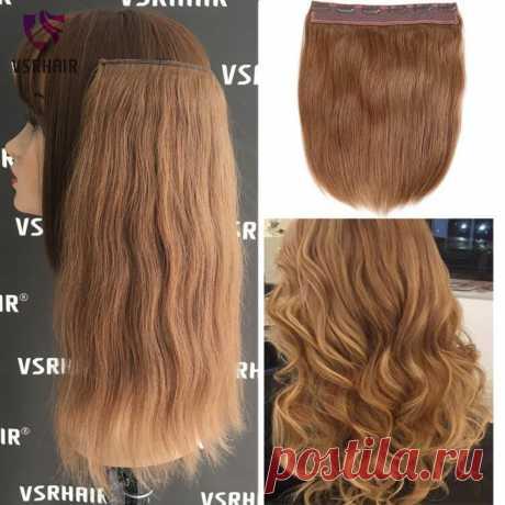 3359.65руб. 40% СКИДКА VSR 120 г, 150 г, человеческие волосы на заколках, легко сделать, на заколках, европейская толщина, волосы на концах, машина, волосы remy, стиль Halo, наращивание волос-in Цельный на клипсе from Пряди и парики для волос on AliExpress  Покупай умнее, живи веселее! Aliexpress.com
