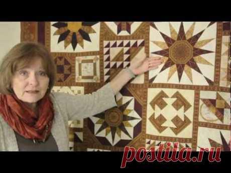 Magical Effects Using Border Print Fabrics in Quilt Blocks
