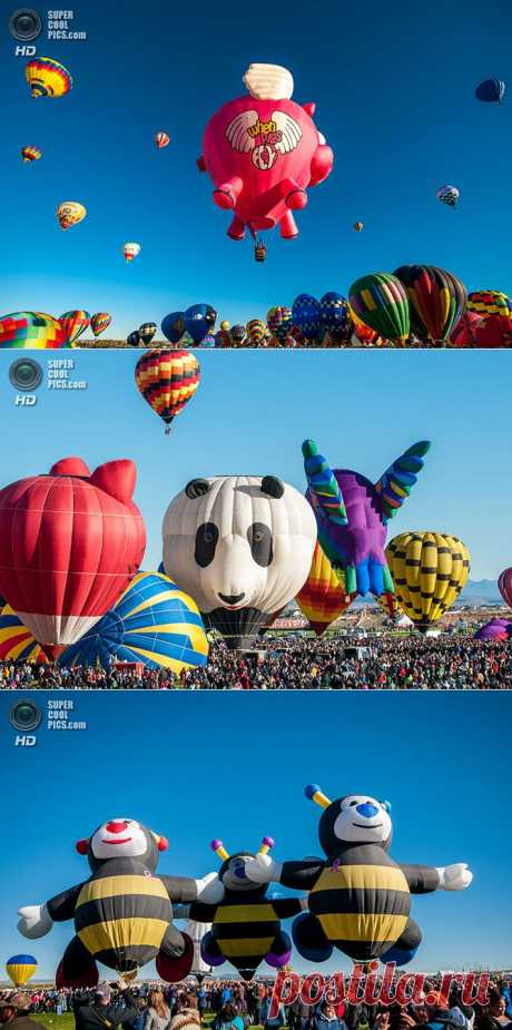 Фестиваль воздушных шаров в Альбукерке | Fresher - Лучшее из Рунета за день