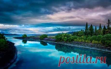 Великолепные пейзажы Новой Зеландии