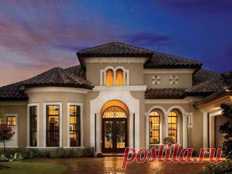 ¡Es propio de la 3d-visualización, pero en realidad, es la casa real en la Florida! ¿Y adivinaríais?