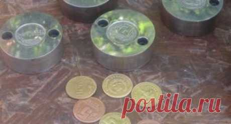Бизнес на чеканке монет различного назначения — Идеи для бизнеса