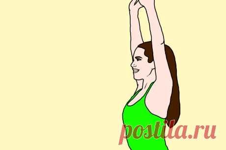 Почему необходимо ежедневно поднимать руки вверх. Польза простого упражнения   Здоровая жизнь   Яндекс Дзен