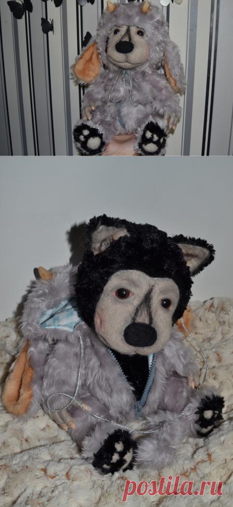 Волк в овечьей шкуре, Мастерская Маришкина кукла, Мастер Marisha18 - https://LangeSTORE.ru