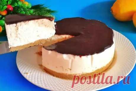 Торт баунти, без выпечки и духовки - Кулинарный Блог - медиаплатформа МирТесен