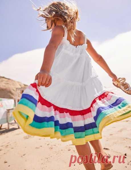 Яркие летние детские платья на каждый день Фасоны мамам для вдохновения