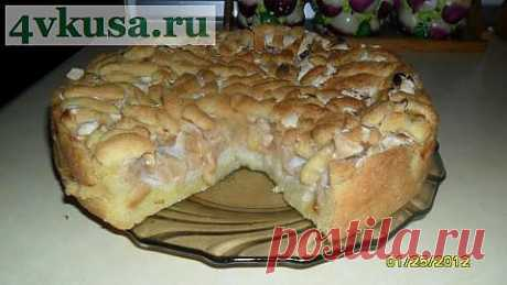 Яблочный пирог | 4vkusa.ru