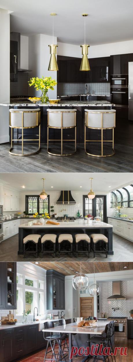 Дизайн кухни в частном доме: все особенности и 81 фото-идея - смотрите в статье