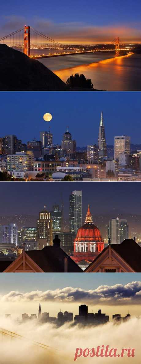 Сан- Франциско — город туманов и мостов   Блог За городом