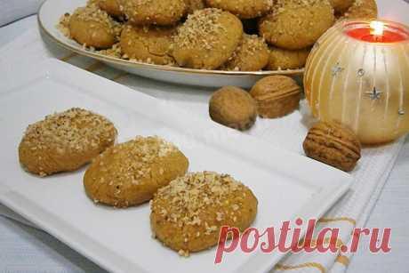 Меломакарона греческое рождественское печенье рецепт с фото - 1000.menu