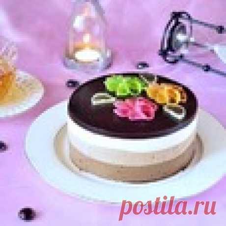 "Торт ""Три шоколада"" Кулинарный рецепт"