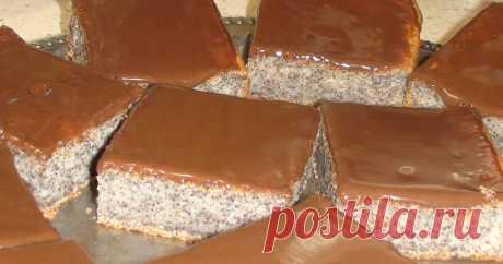Fast Poppy pie the Author of the recipe Oksana Kovalenko - Cookpad