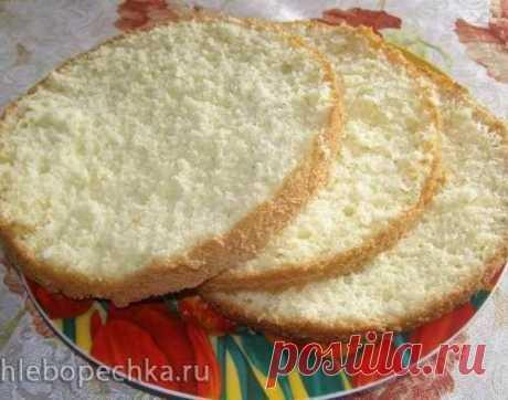 Ванильный бисквит на кипятке - уникальный рецепт и шикарный результат!