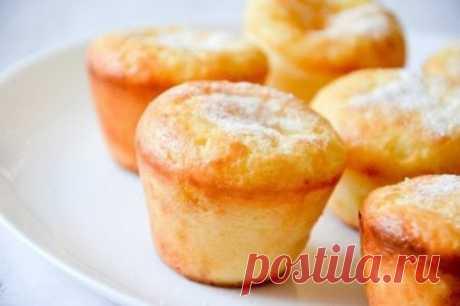 Творожный кекс - полезный десерт, сытный завтрак