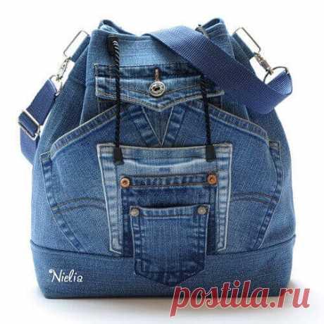 Как сшить рюкзак из старых джинсов своими руками (выкройки)