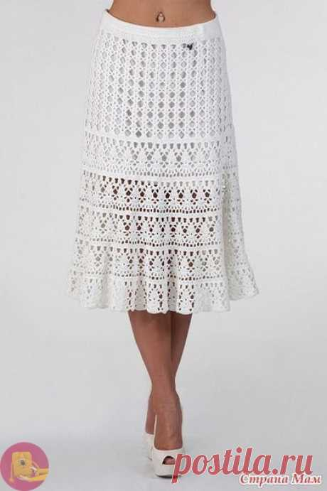 Ажурная юбка талисман
