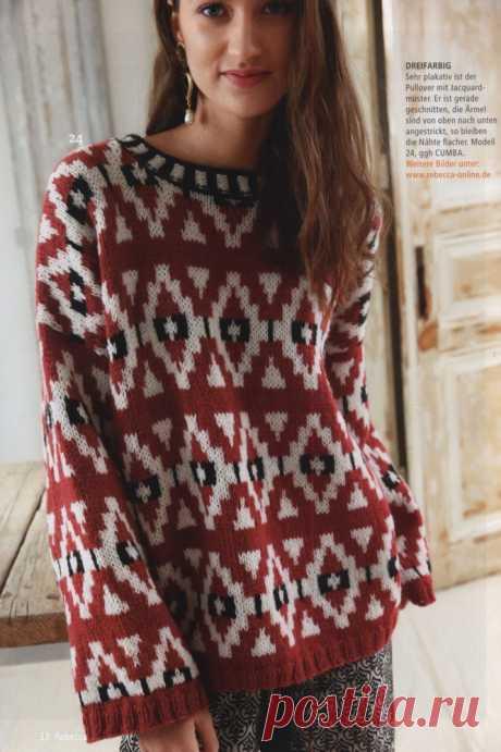 Как хорошо уметь вязать: Пуловер..........