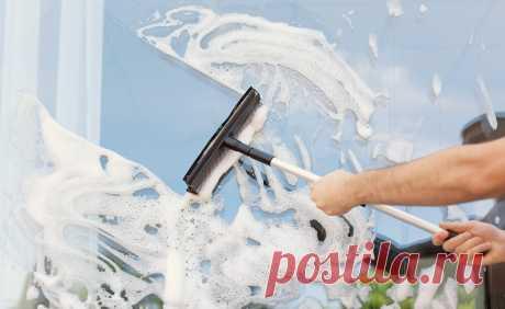 Как правильно мыть окна, быстро помыть окна без разводов
