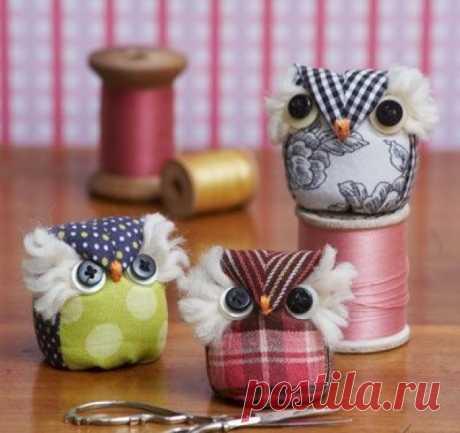 We sew owls