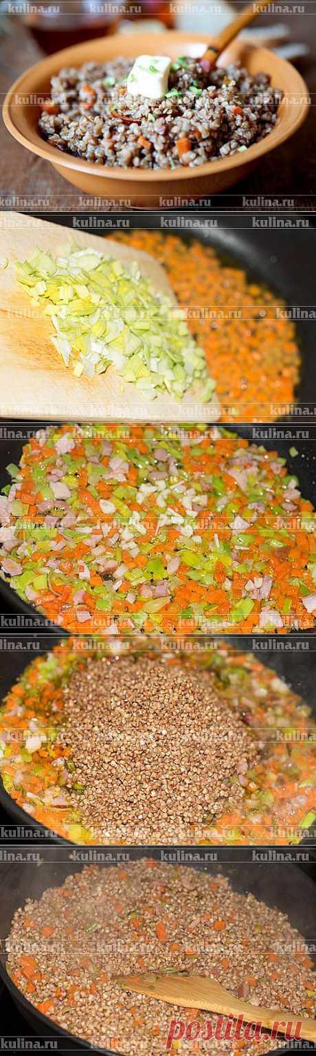 Гречка с овощами – рецепт приготовления с фото от Kulina.Ru