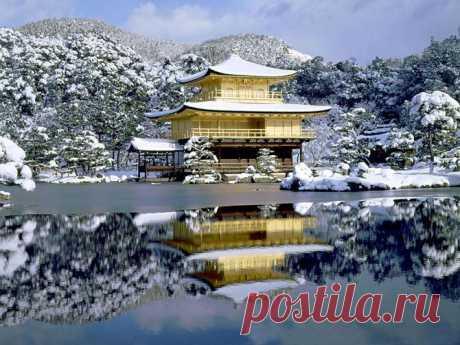 El pabellón (Japón) magnífico De oro   las Pasitas